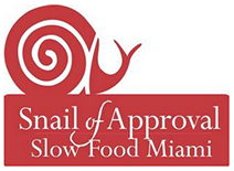 Slow Food Miami Snail of Approval Award