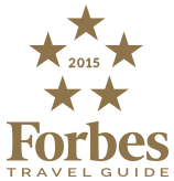 2015 Forbes Travel Guide Five-Star Award
