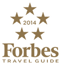 2014 Forbes Travel Guide Five-Star Award