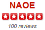 Yelp NAOE 100 reviews Five-Stars